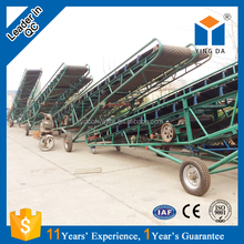 2017 Large high inclination angle manure belt conveyor