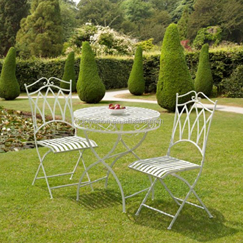 E-coating antique outdoor iron chair furniture