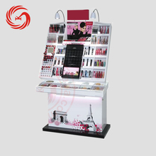 Fashion cosmetic products accessories display stand for cosmetic shop displays