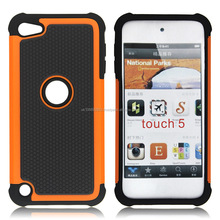 Triple Defender Case For Ipod Touch5 With 11 Colors , Factory Price
