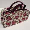 Medium Sized COTTON Travel Cosmetic Bag