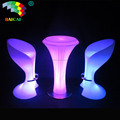 LED Illuminated Smart Led Light Coffee Chair LED Chair For Bar