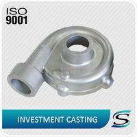 casting stainless steel water pump housing