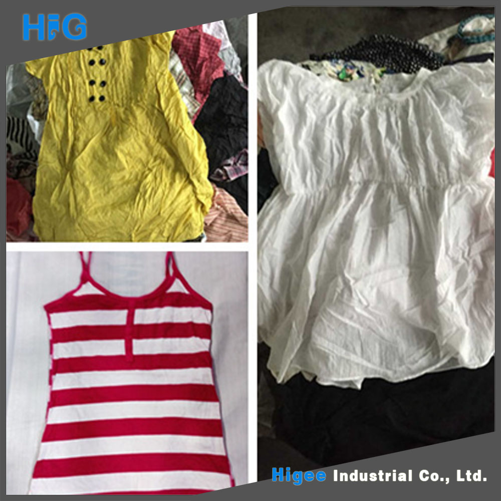HIG lowest price good quality used summer used clothing suppliers in malaysia