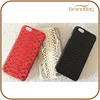 100% python leather phone case snake skin case for iphone 6s