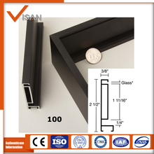 Factory hot sale aluminum picture frame profile, aluminum extrusion for picture frame