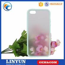 Factory Price Matte Anti-slip Soft TPU bumper PC Hard Back cover case for iphone 4 5 6 6s