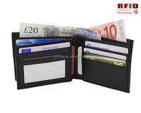 RFID blocking security shiled bifold wallet- Protect your private information