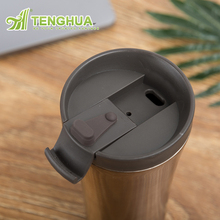 BPA FreeTravel Mug Stainless Steel Thermoses for Office Car Home Leisure, Vacuum Insulated Coffee Mug Cup Water Bottle