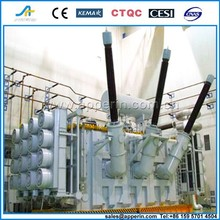 Oil immersed 132kv power transformer with Copper Winding