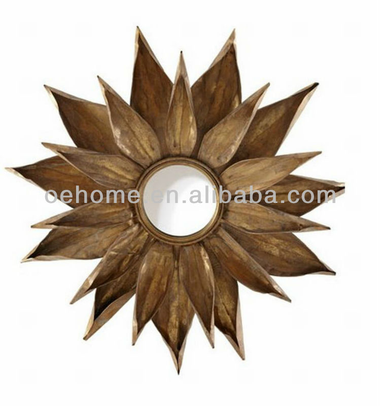 Unique design decorative wall mounted mirror frame