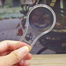 Promotional Small Acrylic Cheap Glass Magnifying, Double Lens Reading Magnifiers for Elderly