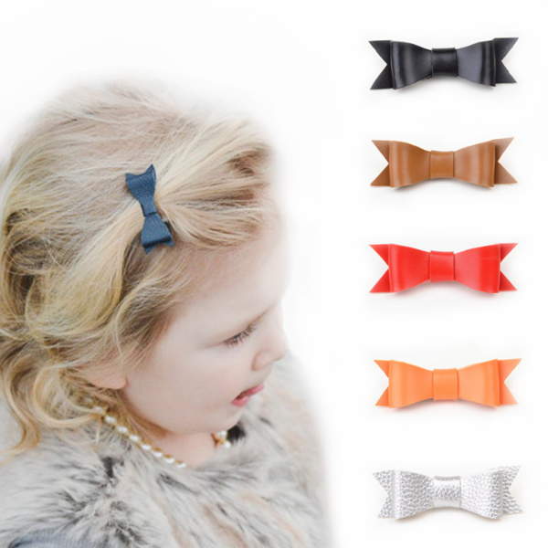 PHB31244 butterfly bow baby girls 2017 headband hair pin
