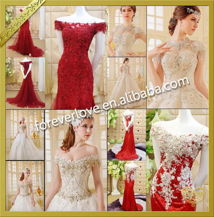 2016 Hot fashion crystal applique designs for wedding dress accessory FHA015