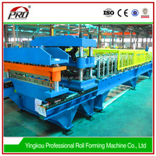 glazed cold roof metal used sheet roll ceramic tile making machine
