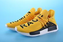 2016 Pharrell Williams NMD HUMAN RACE black S79167 Originals New Color PrimeKnit Upper Men Sport Running for Men NMD Shoes