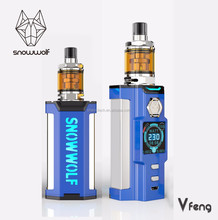 Black/ Yellow/ Blue E cigarette, SNOWWOLF Vfeng is coming soon!!!