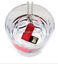 waterproof 8G 16G 32G 64G USB flash drive rotating pen drive lovely gifts usb 2.0 memory stick MINI flash drive