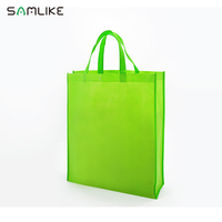 New fabric Non woven Material High Quality Promotional Bags Factory pp Fabric Shopping Bag with plastic