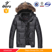 Windproof Man jacket Raccoon fur coat Detachable hood clothes man jacket motorcycle