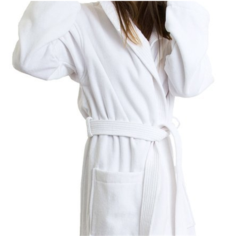 winter long sleeve ladies bathrobe nightgown warm fleece women robe bathing suit free shipping