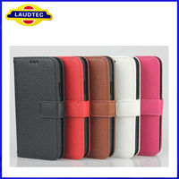 Hot selling wallet case for Samsung galaxy S4 mini i9190 , for s4 mini case
