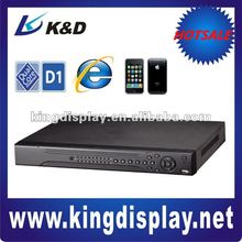 Economical H.264 Full D1 CCTV Security DVR with Free CMS Software