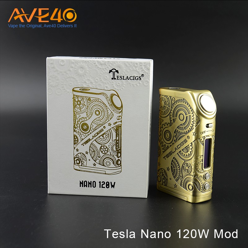 2017 Tesla Vape box Steampunk Nano 120W in stocks