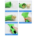 Plastic non-toxic Pet Food Catapult Dog Snacks Feeder Pet training Treat Launcher Rosy/Blue/Green increase subconscious