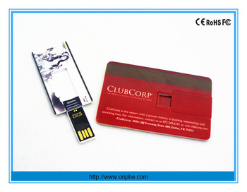 China factory wholesale gift usb flash drive with logo usb flash drive card