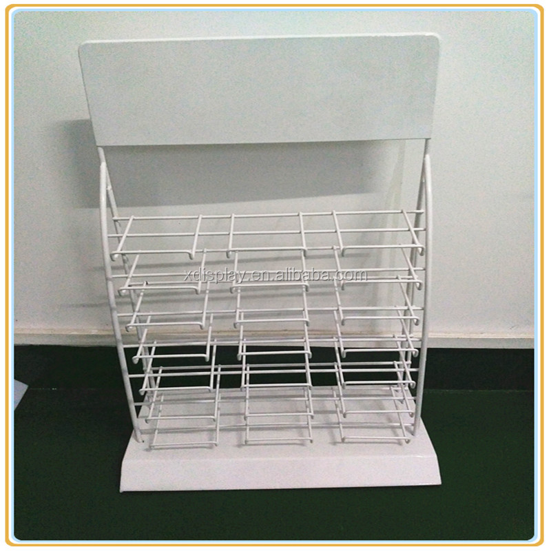 New design metal display stand for marble show/tile holder display rack