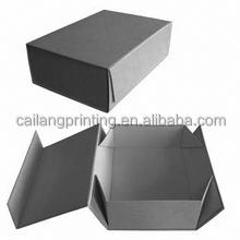 cardboard Jewelry Boxes Material paper shoe box collapsing Cardboard magnetic closure gift box folding style unlock packaging