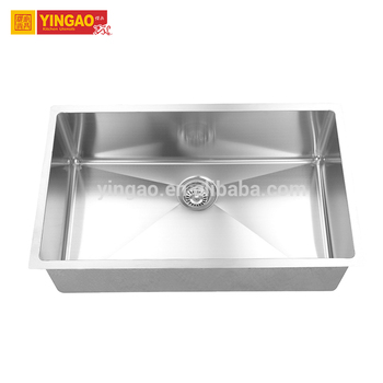 Custom made stainless steel composite apron front farmhouse sink