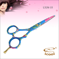 5.5 inch 440c stainless steel tattoos of hair scissors