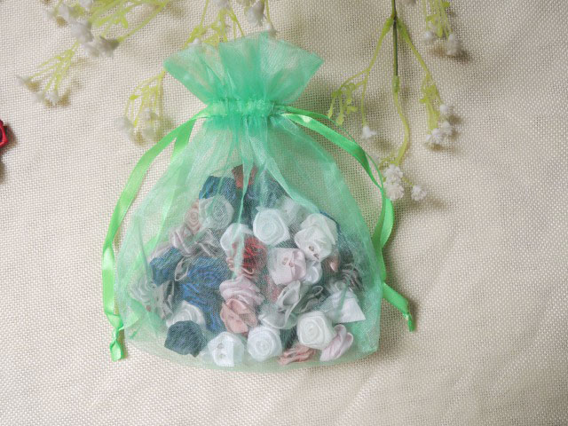 wholesale cheap fancy customized gift package organza bags for wedding