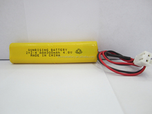 ni-mh AAA 300mah 500mah 4.8V rechargeable battery pack ni mh aaa 1.2V rechargeable battery