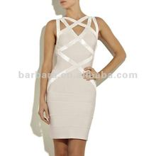 Paypal fashion designer sleeveless sequins crisscross ladies night sexy dress supplies from Guangzhou factory in stock