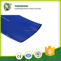 Agricultural use pvc flexible irrigation lay flat hose