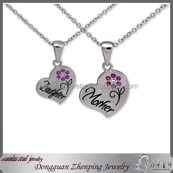 Mom&Daughter sets-----heart meaningful pendant necklace
