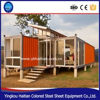 modified shipping container house for sale/bedroom container/bamboo prefabricated house
