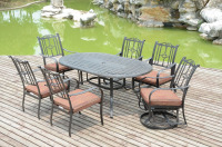 Outdoor Garden Furniture Dining Table and Chairs Set