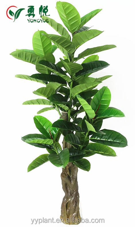 2015 Wholesale 5.91 ft Artificial Ficus Elastica For Indoor Decor