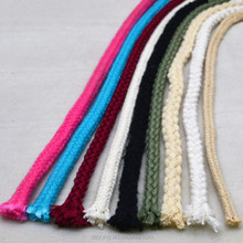 Braided Soft 100% Solid Color Decorative Cotton Rope