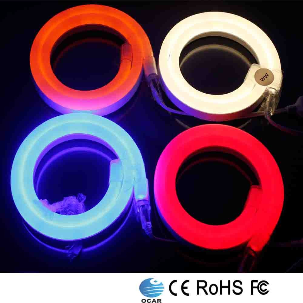 110-220 Voltage waterproof led neon flex light