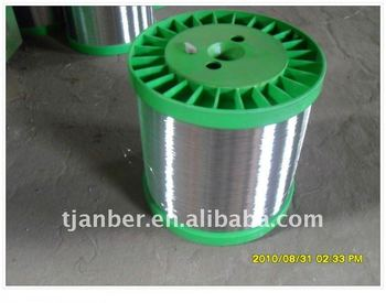 Galvanized iron wire for scourer and nail