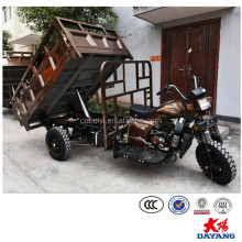Popular 3 wheel cargo tricycle 200cc-250cc 4 wheel motorcycle with Dumper