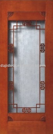 Solid Wood French Interior Door DJ-S512