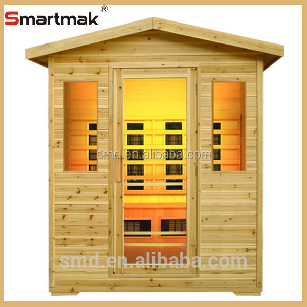 Canada hemlock far infrared sauna room outside infrared sauna,outdoor saunas for sale