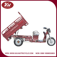 Alibaba China Supplier 2015 New Products Kavaki Brand High Power Cargo Three Wheel Electric Tricycle For Sale