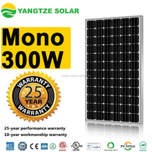 TUV/CE/ISO certificated 300w 24v solar panel